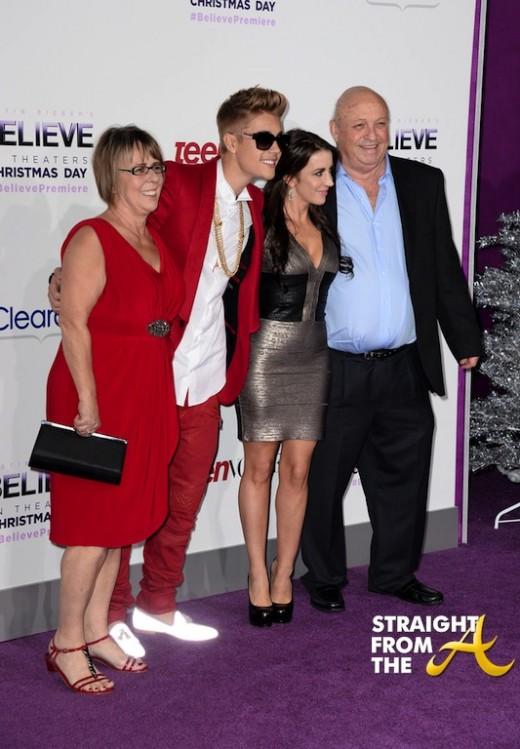 Usher Justin Bieber Premiere 2013-8