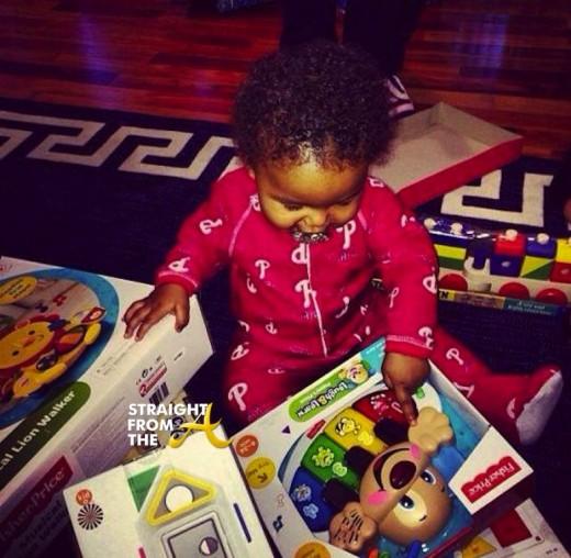 Wiz and Amber Son Blake Christmas