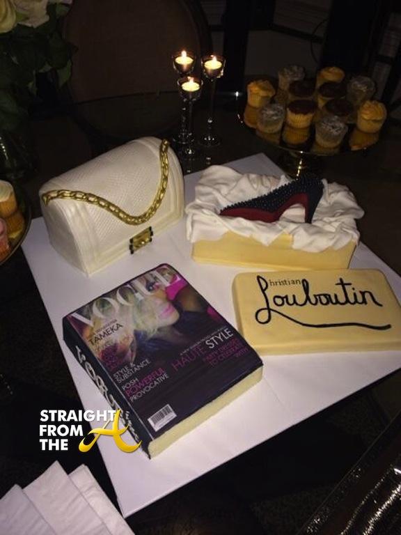 Tina Knowles Birthday Cake
