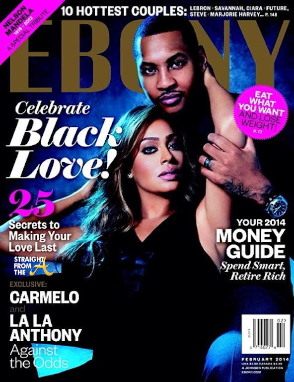 Carmelo Anthony & Lala Vasquez - Ebony Black Love 2014