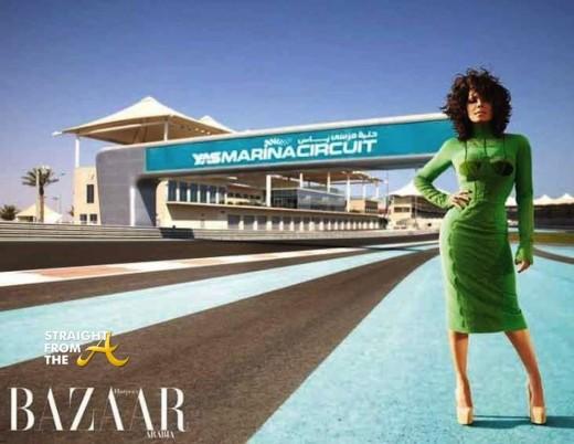 Janet Jackson Harpers Bazaar 2011