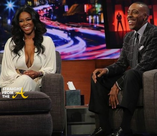 Kenya Moore Arsenio Hall 2014 7