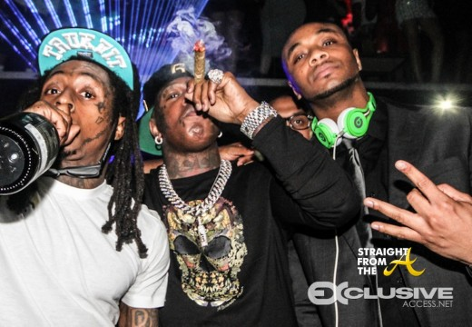 Lil Wayne Baby New Years Eve 123113 Miami StraightFromTheA