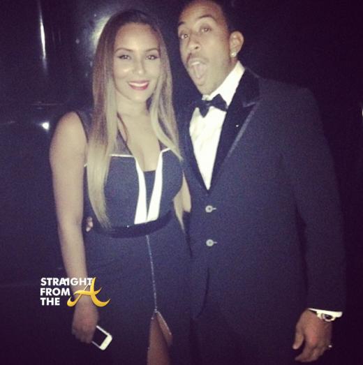 Ludacris and Eudoxie NYE 2013
