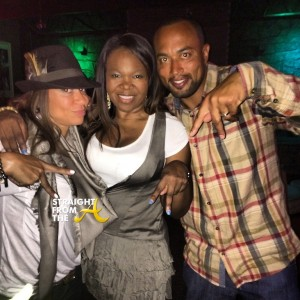 Michelle ATLien Brown with Chuck and Mynique Smith StraightFromTheA 1