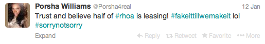 Porsha Tweet