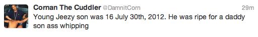 Random Jeezy Tweet