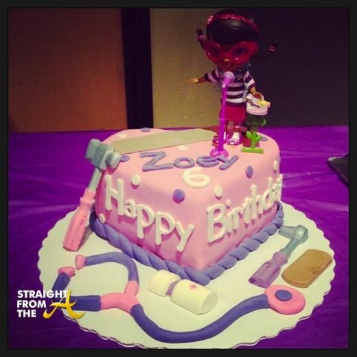 Tank Daughter Zoey Birthday 1