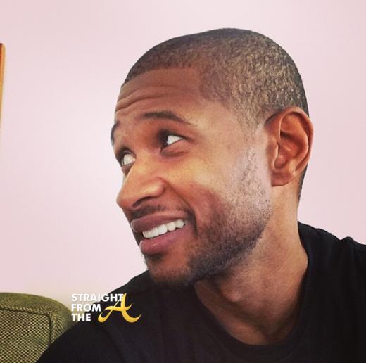 Usher Raymond Haircut 2014 StraightFromTheA