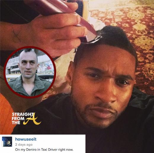 Usher Raymond Haircut Robert Deniro Taxi Driver 2014 StraightFromTheA 6