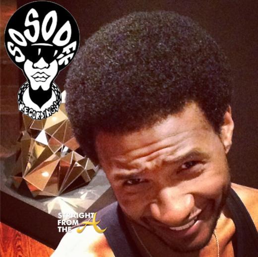 Usher Raymond Haircut Fro 2014 StraightFromTheA