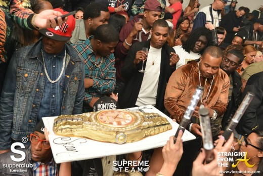 02-04 Supperclub - Sean Kingston Cake