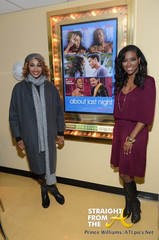 Cynthia Bailey Kenya Moore About Last Night Private Screening StraightFromtheA-20