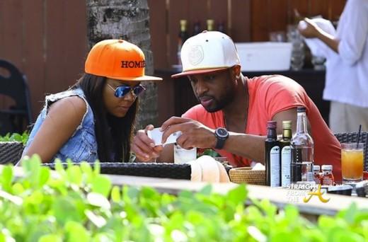 Dwayne Wade Gabrielle Union Miami 2014 1