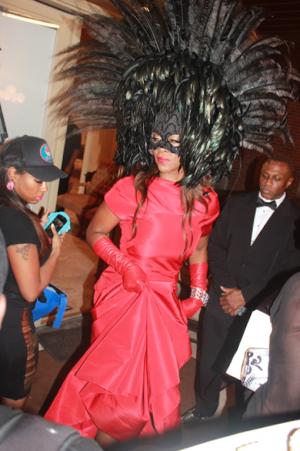 Kenya Moore Mask Ball RHOA StraightFromTheA 1