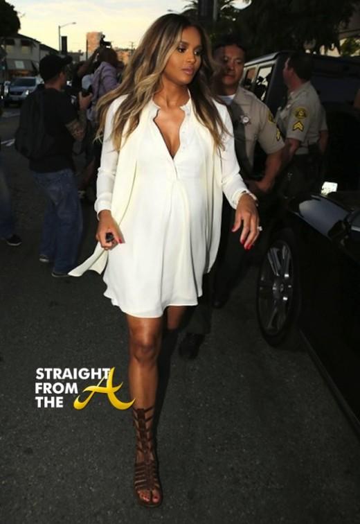 Kim Kardashian and Pregnant Ciara 021314 StraightFromTheA 8