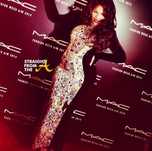 Lil Kim Pregnant 2014 StraightFromTheA 8
