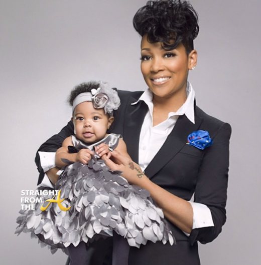 Monica Brown and Daughter Laiyah 2014 StraightFromTheA