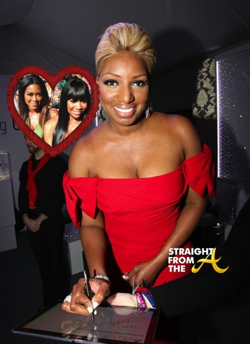 Nene Leakes Red Dress StraightFromTheA
