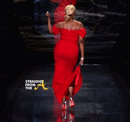 Nene Leakes Red Hot Truth Runway NYCFW 2014 StraightFromTheA-11