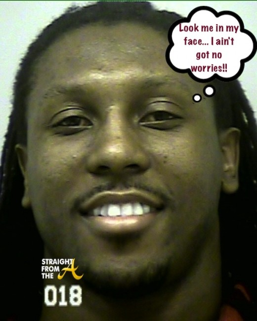Roddy White Mugshot