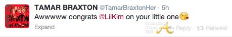Tamar Braxton Tweet StraightFromTheA