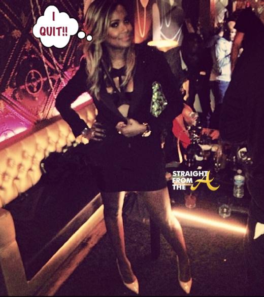 Tameka Raymond Quit Hollywood Exes StraightFromTheA 2014