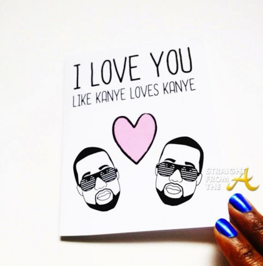 Kanye Valentine Card