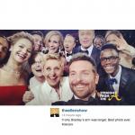 Ellen Degeneres' Oscar #Selfie Breaks Twitter Records…