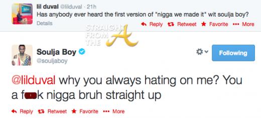 Lil Duval Soulja Boy Twitter Beef 1