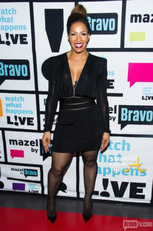 Sheree Whitfield WWHL StraightFromTheA 2014