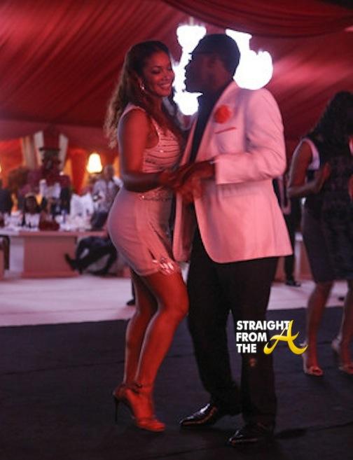 Tamala Jones Teodoro Nguema Obiang Mangue StraightFromTheA 2014 1