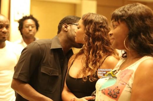 Tamala Jones Teodoro Nguema Obiang Mangue StraightFromTheA 2014 3