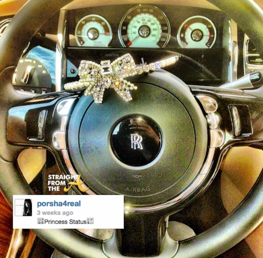 porsha stewart williams rolls royce  2014
