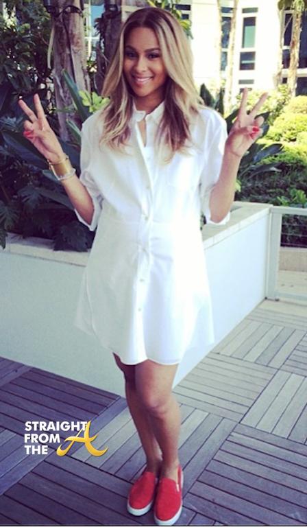 Ciara Pregnant 2014 StraightFromTheA 2