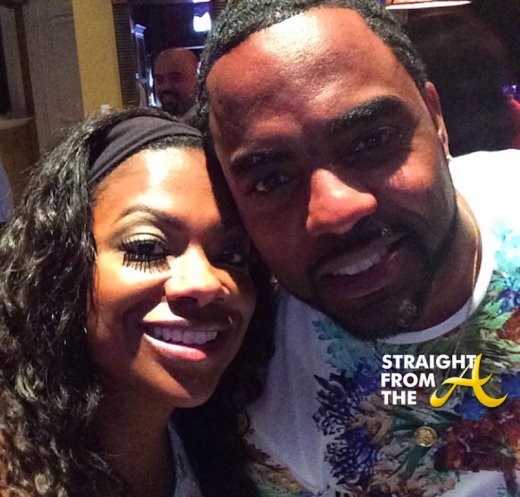 Kandi Burruss Todd Tucker - Will Packer 40th - StraightFromTheA 4