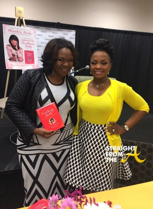Michelle ATLien Brown Phaedra Parks Book Signing 2