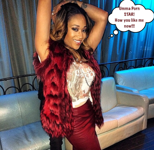 Mimi Faust Porn Star Pose StraightFromTheA