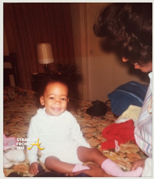 Monica Brown as a Baby - StraightFromTheA 2014 2