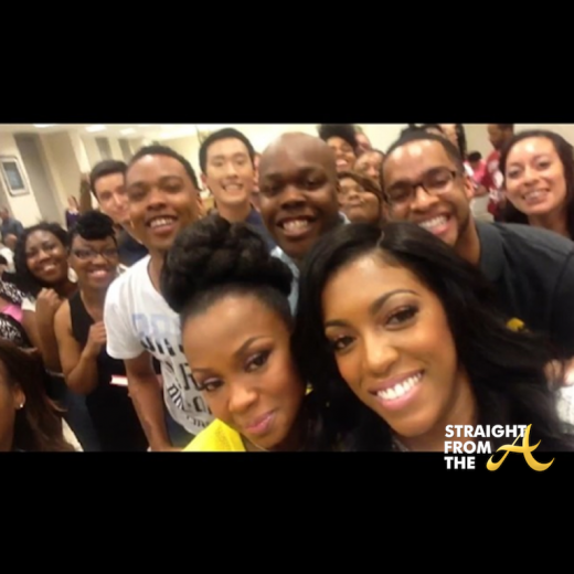Phaedra Parks Porsha Williams Selfie