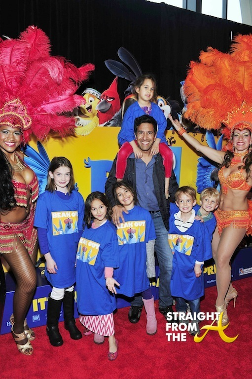 """RIO 2"" Red Carpet Screening With Janelle Monae And Carlos Saldanha"