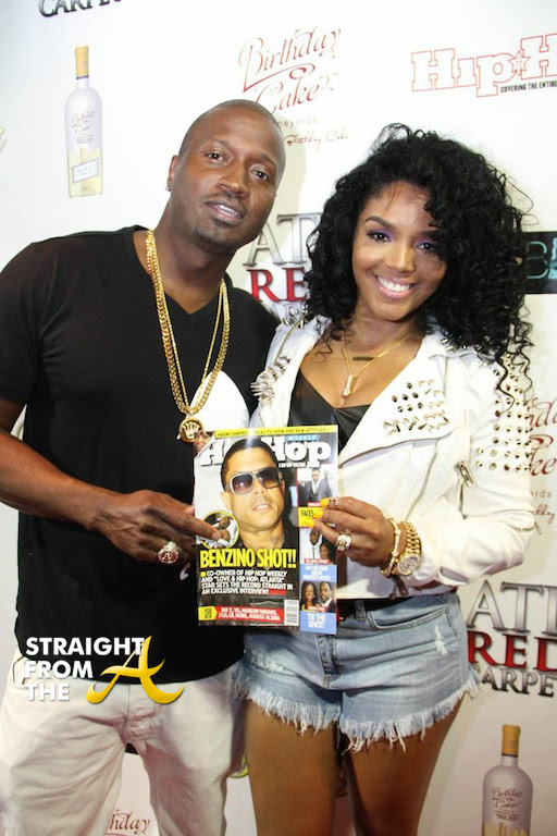 Rapper and Rasheeda and husband Kirk. LHHATL castmates. (2)