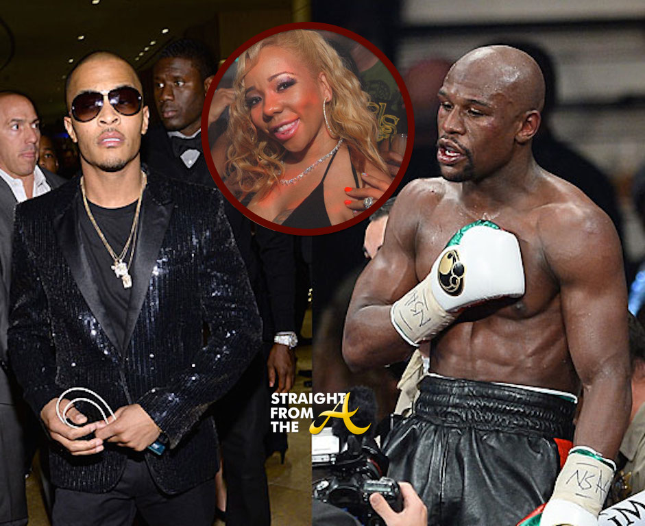 TI and Floyd Mayweather In Street Fight Over TIs Wife
