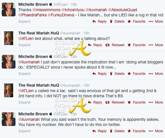 ATLien Mariah Huq Tweets 2014