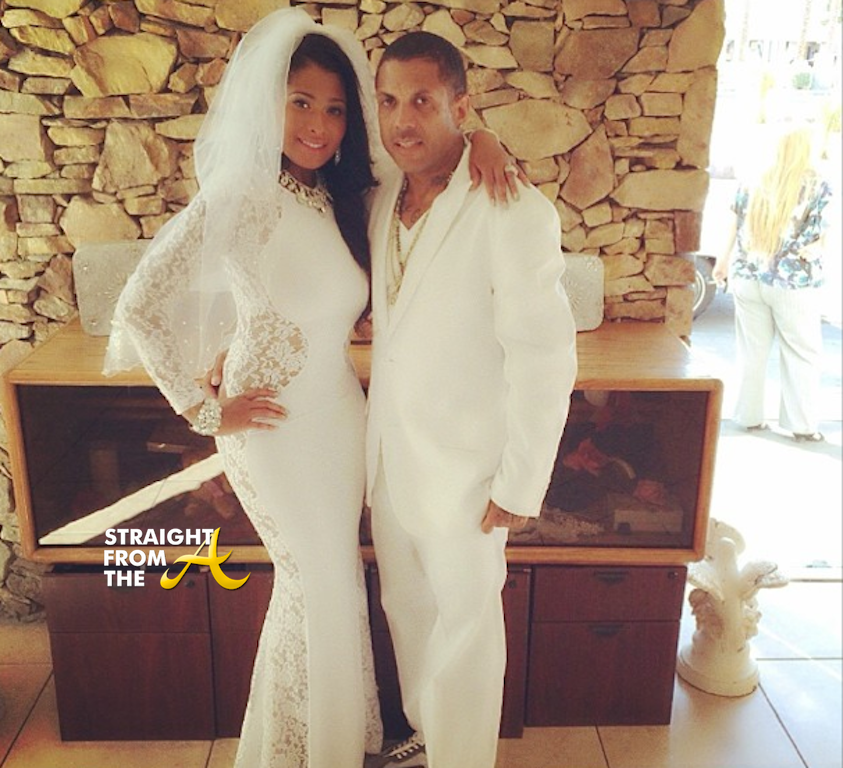 Althea Benzino Wedding Dress Ghetto Love Video Shoot