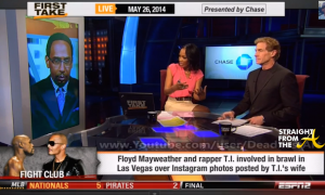 First Take T.I. Mayweather StraightFromTheA