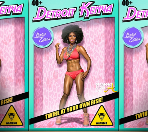 Detroit Barbie - Kenya Moore 2014 Calendar StraightFromTheA-12