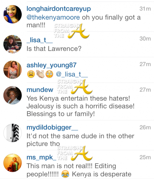 Kenya Moore Comments 2