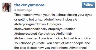 Kenya Moore Instagram Boyfriend StraightFromTHeA 2 2014
