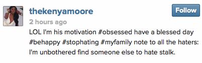 Kenya Moore Instagram Boyfriend StraightFromtheA 2014 1